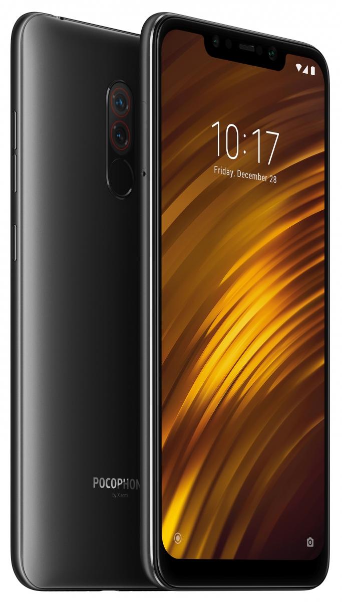 მობილური ტელეფონი XIAOMI POCOPHONE F1 64GB BLACK
