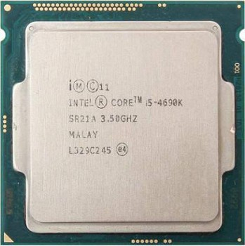 INTEL CORE I5 4690K (6 MB ქეშ მეხსიერება, 3.5 GHZ) TRAY