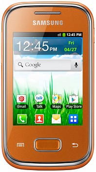 SAMSUNG S5301 GALAXY POCKET ORANGE