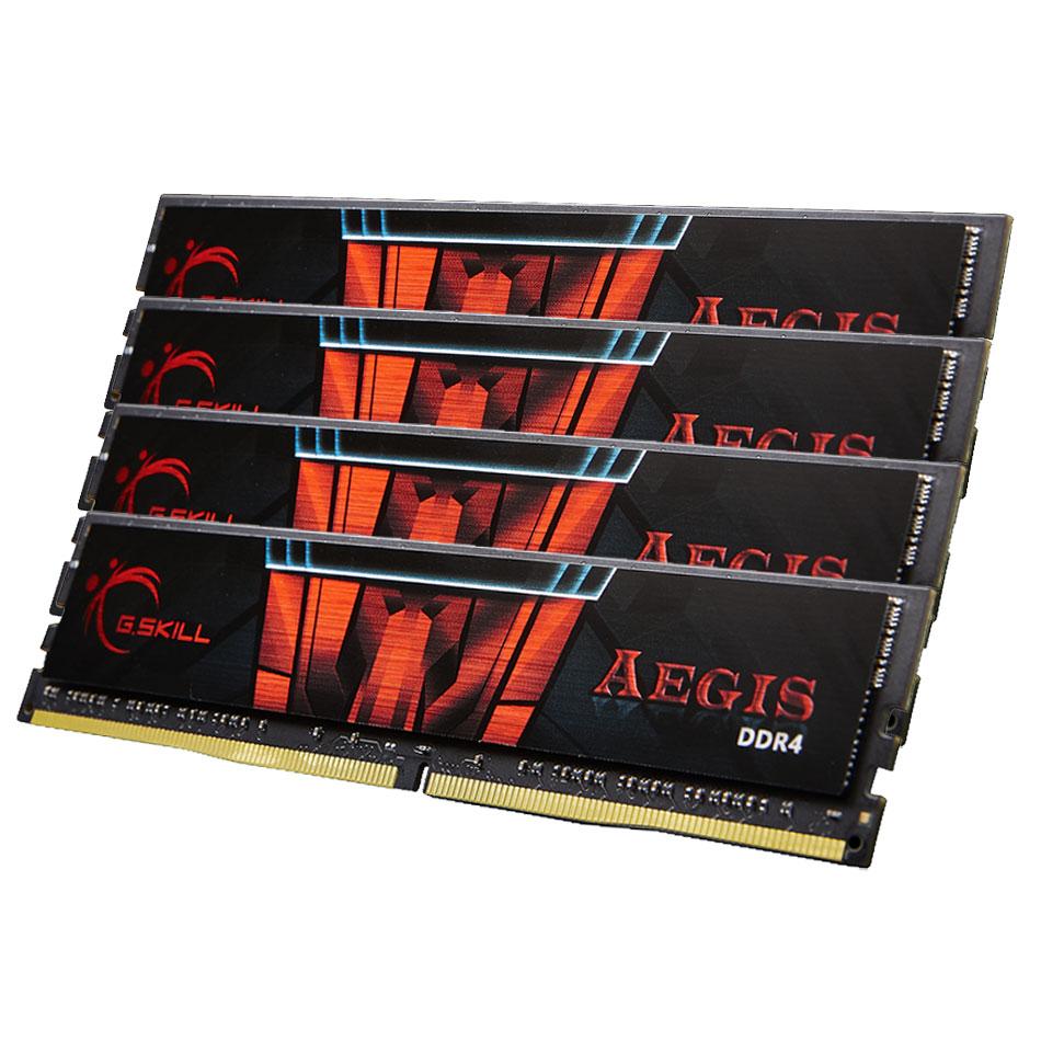 G.SKILL AEGIS 32GB (4 X 8GB) DDR4 2133MHZ (F4-2133C15Q-32GIS)