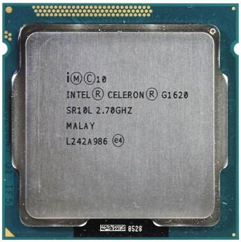 INTEL CELERON G1620 (2 MB ქეშ მეხსიერება, 2.7 GHZ) TRAY