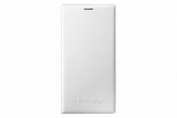 SAMSUNG GALAXY S5 MINI FLIP COVER WHITE (EF-FG800BWEGRU)