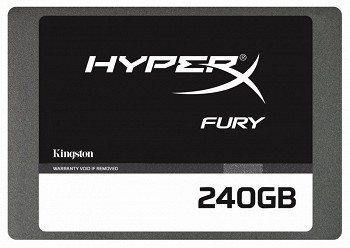 KINGSTON HYPERX FURY 240GB SSD (SHFS37A/240G)