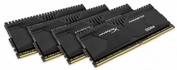KINGSTON HYPERX PREDATOR 16GB (4 X 4 GB) DDR4 2133MHZ (HX421C13PBK4/16)