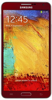 SAMSUNG  GALAXY NOTE 3 (SM-N9005) 16GB RED