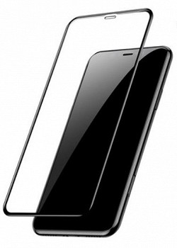BASEUS CURVED-SCREEN APPLE IPHONE XS MAX (SGAPIPH65-PE01) BLACK