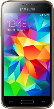 SAMSUNG GALAXY S5 MINI DUOS (SM-G800HZDDCAC) 16GB GOLD