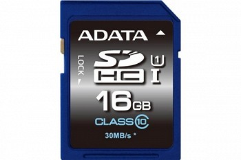 A-DATA PREMIER SDHC UHS-I 16 GB CLASS 10