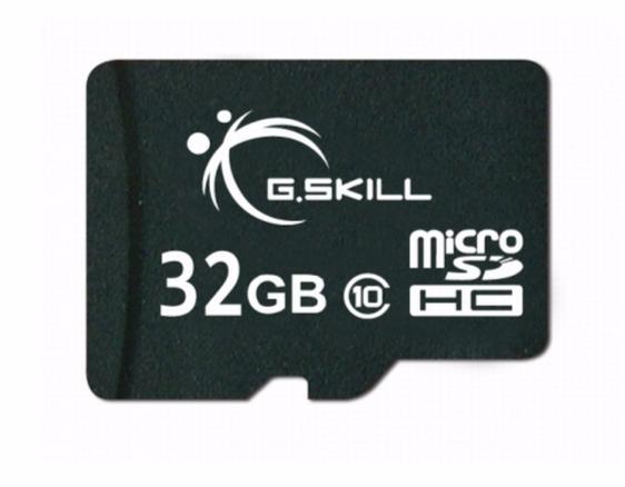 G.SKILL MICRO SDHC 32GB (FF-TSDG32GA-C10)