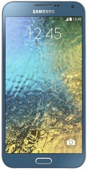 SAMSUNG GALAXY E7 (SM-E700F/DS) 16GB BLUE