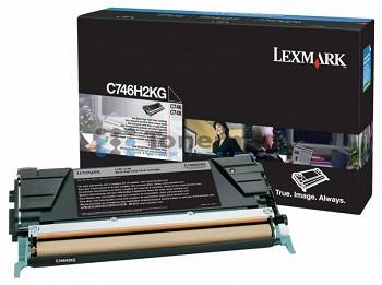 LEXMARK BLACK C746H3KG
