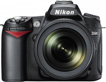 NIKON D90 KIT BLACK
