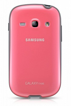 SAMSUNG GALAXY FAME PROTECTIVE COVER PINK